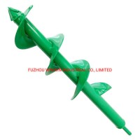 """9X40cm Auger Spiral Drill Bit for Planting  Garden Drill Planter Post Hole Digger Used for 3/8"""""""