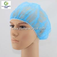 High Quality Disposable Nonwoven Bouffant Cap Hair Net