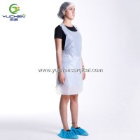 Manufacturer Plastic Disposable Food Industry PE Apron for Protection