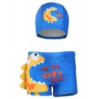 Children's Bathing Suit Cartoon Children's Swimming Trunks Boy's Swimming Trunks Cap
