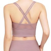 Hot Selling Gym Fitness No-Feeling Women Fitness Custom Sports Bra Gym Fitness Sports Underwear Fema