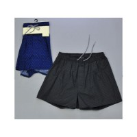 Custom Made Woven Boxer Shorts Young Mens Printed Underwear