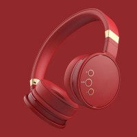 Headphones with Microphone and Volume Control Folding Cordless Consumer Electronics Bluetooth Headse
