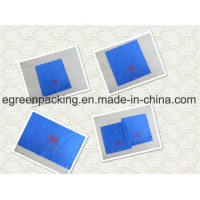 Custom Microfiber Glasses Cleaning Cloth Blue Color Factory Price
