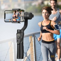 New Arrival 3 Axis Foldable H4 Handheld Gimbal Video Camera Stabilizer Selfie Stick