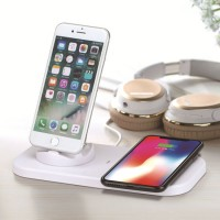 Fast Charging Base Dock Station for iPhone Xs Xr X 8 Samsung Android Type C Sync Cradle 3 in 1 Wirel