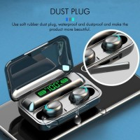 Smart Touch F9 Bluetooth 5.0 Wireless Earbuds Earphone True Wireless Stereo Gaming Noise Cancelling