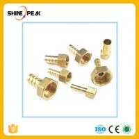 Pipe Fittings Brass Barb Hose Tail Fitting Fuel Air Gas Water Hose Oil ID 4mm-19mm to 1/8''
