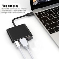 USB C HDMI Type C to HDMI 3.1 Pd Charging Converter Adapter