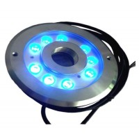 High Power 36W IP68 RGB LED Underwater Fountain Ring Light