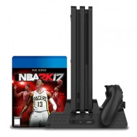 12 Games Multifunctional Vertical Cooling Stand Controller Chargers for PS4/Slim/PRO