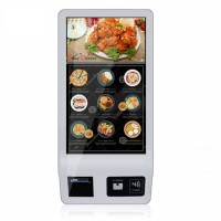 32 Inch Smart Touch Screen Self Service Ordering Digital Signage Payment Kiosk for Restaurant/Coffee