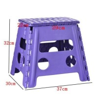 32cm Height Foldable Beach Plastic Chair with Ce