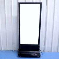 Doulbe Side Freestanding Light Box Removable Light Box