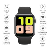 Blood Pressure Moniting Bluetooth 2.5D Fox Surface 1  54 Inch Smart Watch
