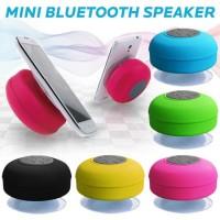 Mini Bluetooth Portable Wireless Ipx4 Waterproof Shower Speaker Handsfree Sucting Mic Car Bathroom W