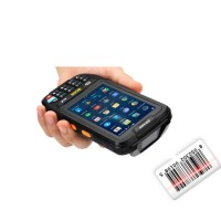 Portable IP67 Android Handheld Terminal Wireless Barcode Scanner with Memory Bar Code Scanner Qr Cod
