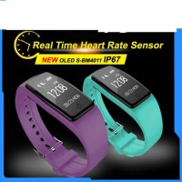 OEM Men Women 2017 Sport IP67 Dual Slim Smart Watch Bracelet Connect with Phone for Android and Ios