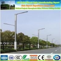 Q235 Steel Hot DIP Galvanized Cast Iron Post Lamp Solar Street Light Pole