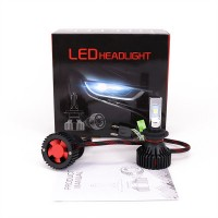 New T8 Car LED Headlight Headlight CREE XP50 Chip Super Bright White Light Far and Near Light Bulb H