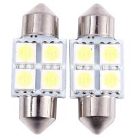 5050 31mm 41cm 4SMD Car Interior Dome Festoon LED Light Bulbs Lamp White DC12V 2020 The New Hot Sale
