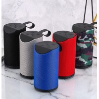 Bluetooth Wireless Speaker with Deep Subwoofer Stereo Portable Fabric Speaker with Retail Box