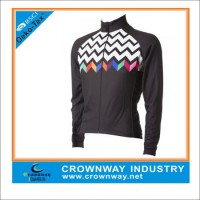 Long Sleeve Bike Fit Fashion Cycling Jersey for Womens