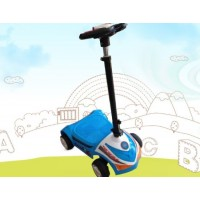 Adjustable Folding Electric Scooter Children's Toy Car Four-Wheel Electric Scooter Manufacturer