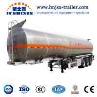 Tri-Axle Fuel Tanker Truck Trailer Oil Tanker for Sale