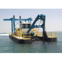 Hydraulic Cutter Suction Dredger with Deisel Engine