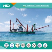 Container Shipping HID Cutter Dredger Ship for Sand Mining / Port Maintenance Projects