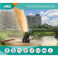 Amphibious Mud Pump Machine Ship for Sand/Mud Pumping in All Areas