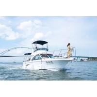 11.5m New Model GRP/Fiberglass 38FT Sarawak Cabin Fishing Yacht for Sale