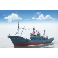 120FT/37m Steel Commercial Deep Sea Stern Trawler Fishing Ship with Freezer